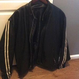 Other - Sale 🎊EUC men genuine leather shell jacket